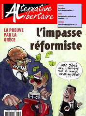 Alternative libertaire mensuel (Alternative libertaire photo) Tags: journal rvolution grce dette anarchisme capitalisme syriza tsipras alternativelibertaire rformisme