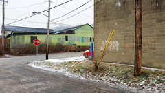 Yellow, Blue, Red, Green and Snow in Upper Lawrenceville, January 20, 2016 (real00) Tags: road city urban snow building industry corner landscape flickr industrial pittsburgh pennsylvania streetscene intersection lawrenceville urbanlandscape rustbelt westernpennsylvania 2000s 2016 alleghenycounty 2010s pittsburghregion willreal williamreal