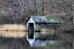 Rydal Water Boat House (AliceWilliamsPhotography) Tags: england sky lake nature water canon photography photo lakes lakedistrict tokina northeast lightroom 550d 1116mm