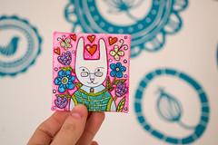 f_rabbit_6 (apolinarias) Tags: rabbit bunny art easter spring etsy