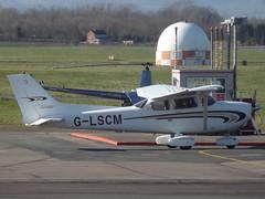 G-LSCM Cessna Skyhawk 172 (Aircaft @ Gloucestershire Airport By James) Tags: james airport gloucestershire skyhawk cessna lloyds 172 egbj glscm