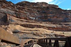 walk bridge over Colorado River in Moab, Utah 4288x2848 (Charlotte Clarke Geier) Tags: wallpapers screensavers