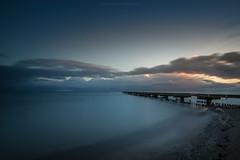 Silence (Sascha Gebhardt Photography) Tags: sea see nikon wasser sonnenuntergang nikkor fx ostsee fehmarn haida d800 lightroom langzeitbelichtung fototour 1424mm