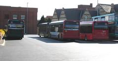 Tempo Rears, King's Lynn, 12/09/15 (aecregent) Tags: stagecoach kingslynn stagecoacheast 120915 stagecoachnorfolkgreen