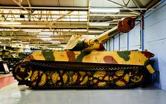 Panzer (by Porsche) (SBA73) Tags: uk inglaterra england museum tank unitedkingdom camo german camouflage porsche dorset ww2 char turm turret panzer kingtiger aleman tanque reinounido bovington tanc sgm knigstiger anglaterra regneunit tigerii thetankmuseum