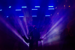 Another Stage (pni) Tags: blue light people silhouette suomi finland person helsinki being multipleexposure human helsingfors tripleexposure multiexposure skrubu pni pekkanikrus luxhelsinki