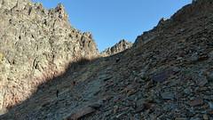 Podejście na przełęcz Port Sotllo