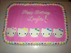Hello Kitty cake by Angela, Linn County, IA, www.birthdaycakes4free.com