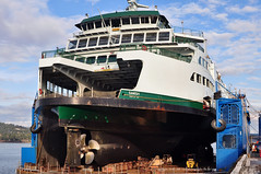 2016-02-27 M/V Samish (2048x1360) (-jon) Tags: public ferry boat ship hole inspection vessel repair transportation skagit sanjuanislands shipyard anacortes washingtonstate leak drydock ferries corrosion dci boatyard samish wsf skagitcounty guemeschannel washingtonstateferry floatingdrydock fidalgoisland wsdot olympicclass portofanacortes dakotacreekindustries vigorindustrial mvsamish a266122photographyproduction wdh7552 mmsi367649320