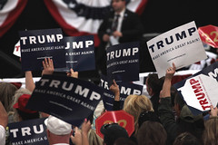 Donald Trump supporters (Gage Skidmore) Tags: new york las vegas businessman point south nevada president rally donald arena trump campaign caucus 2016
