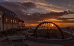 IMG_1730tag2 (Alan.P.Thompson) Tags: from old sea seascape wheel sunrise mine durham winding colliery seaham pittop alanpthompson alanpt2014©