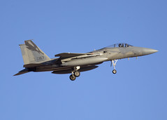 86-0167_F-15C_ANG_KLSV_9670 (Mike Head - Jetwashphotos) Tags: usa america us eagle boeing usaf redflag f15 mcdonnelldouglas mdc nellisafb f15c caang lsv klsv 194fs redflag161
