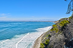 PV Cliff (Kaya Hawkinson) Tags: ocean cliff cove fieldtrip pv hdr paloverdes