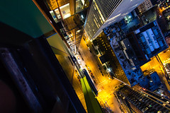 Looking down 32 stories (FlintWeiss) Tags: doppler efs1022mmf3545usm washington 2016 wa sunset seattle canon60d city urban high rise looking down height fav