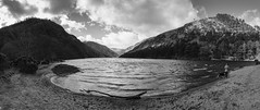Glengalough (d1g1dav3) Tags: camera ireland panorama white lake black water photoshop nikon raw glendalough wicklow laragh d5200