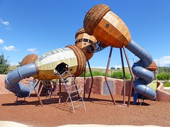 Super Awesome Pod Playground (Snuva) Tags: australia canberra act nationalarboretum