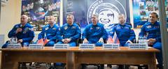 Expedition 47 Press Conference (NHQ201603170020) (NASA HQ PHOTO) Tags: nasa kazakhstan pressconference baikonur jeffwilliams cosmonauthotel roscosmos olegskripochka andreyborisenko shanekimbrough sergeyryzhikov aubreygemignani alexeyovchinin expedition47