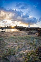 Grass n Sky (e0nn) Tags: ocean sunset pentax harbour steev wollongong 1017mm da1017mm nikfilters steveselby steveselbyphotography pentaxk3