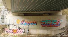 Deos. Redo. (universaldilletant) Tags: graffiti thieves redo eppstein deos