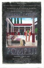 LAST DAYS OF POMPEI POSTER (VinCvINc) Tags: art architecture painting poster acrylic graphic pompeii lincolncenter ancientrome 2016 cockettes rumimissabu
