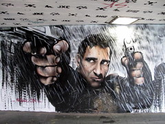 Mr Shiz graffiti, Southbank (duncan) Tags: graffiti bladerunner harrisonford southbank shiz mrshiz