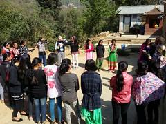 Bahinis gathered for didi event (rukmini_foundation) Tags: nepal colors celebration holi didi mentoring