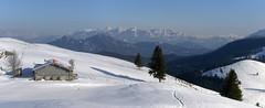 Huberalm & Kaiser (bookhouse boy) Tags: schnee winter snow mountains alps berge alpen 2016 brannenburg farrenpoint mitterberg bayerischevoralpen schuhbrualm schlipfgrubalm sagbruck 17mrz2016