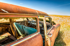 Hop in kids, let's go! (KPortin) Tags: abandoned automobile rusting deteriorated rustyandcrusty whitmancounty