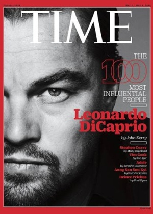DiCaprio, Adele e Minaj entram para lista dos 100 mais influentes do mundo