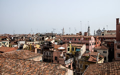 Venice rooftops (timabbott) Tags: venice roof sky italy rooftop tiles venezia aerials