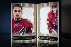 Max Domi Rookie Booklet (cdn_jets_cards) Tags: arizona black max phoenix diamond booklet rookie relics domi 1516 1c coyotes 160299 rbrmd