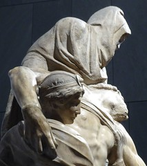 Michelangelo's smashed work known as the Florence Piet (ashabot) Tags: italy sculpture art museum artmuseum museums michelangelo renaissance florenceitaly artgalleries historicalsites