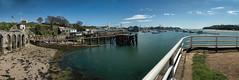 DSC07236-DSC07239-2-2.jpg (cornishdave) Tags: uk water river boats plymouth devon mountwise plymouthsound rivertamar stitchedpanorama hamoaze