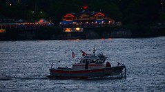 Fireworks 20140704 (caligula1995) Tags: clouds oregon portland fireworks dusk columbiariver 2014 jantzenbeach tumblr