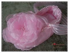 Imagem 061 (Joanninha by Chris) Tags: pink baby handmade flor artesanato rosa beb fita organza bordado sapatinho feitoamo enxovalmenina enxovalbeb