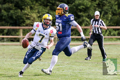"GFL2 Hildesheim Invaders vs. Assindia Cardinals (Testspiel) 24.04.2015 004.jpg • <a style=""font-size:0.8em;"" href=""http://www.flickr.com/photos/64442770@N03/26070099453/"" target=""_blank"">View on Flickr</a>"