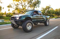 DSC_6089 (Steven Lenoir) Tags: offroad 4x4 smoke toyota tacoma burnout offroading racetruck prerunner trophytruck bedcage v8swap tacomaworld socaltacomas v8tacoma