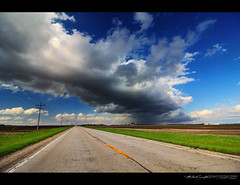 03/31/2016 Storm highway (StormLoverSwin93 | Into the Storm) Tags: sky storm beautiful weather clouds canon dark landscape illinois spring highway thunderstorm storms thunderhead updraft downdraft 60d canon60d canoneos60d illinoisthunderstorms stormhighway