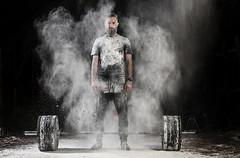 hipster concentrado peso muerto (noor.khan.alam) Tags: spain hipster espalda deporte fitness gym gimnasio olimpiadas barba tatuaje atletismo powerlifting msculos pesas olmpico fuerza culturismo sentidas crossfit halterofilia