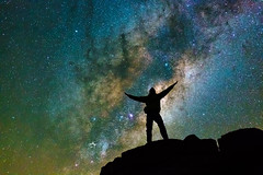 I Caught the Milky Way and it was THIS BIG (TheAstroShake) Tags: sky panorama night canon way stars mosaic space tent astrophotography milky core milkyway