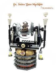 Time Machine (poltexius) Tags: lego indianajones timemachine steampunk moc