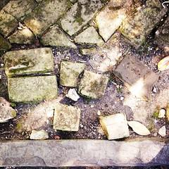 Bricks (woody lauland) Tags: la louisiana neworleans nola gardendistrict neworleansla hipstamatic hipstaprint