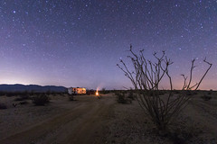 Clear and calm night in Anza-Borrego Desert State Park (slworking2) Tags: california camping stars us unitedstates nighttime nightsky anzaborrego rv borregosprings anzaborregodesertstatepark
