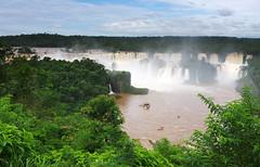 Majestic Iguazu falls (Gregor  Samsa) Tags: trip brazil fall argentina brasil river waterfall falls adventure journey jungle waterfalls tropical iguazu iguassu iguaz iguau iguazufalls iguaufalls iguassufalls iguazfalls iguazuriver