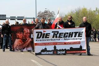 1. Mai - Die Rechte-Demo Erfurt 01
