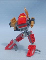 High Stepper Soldier (Mantis.King) Tags: lego scifi futuristic mecha mech moc highstepper microscale mechaton mfz mf0 mobileframezero