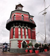 Clock Tower (Dreamcatcher photos) Tags: red heritage tourism monument outdoors artgallery capetown clocktower va victoriaandalfredwaterfront waterfrontcapetownsouthafrica dreamcatcherphotos promotesouthafrica
