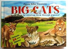 """Puzzle Book """"Big Cats"""" (Leonisha) Tags: puzzle bigcats jigsawpuzzle puzzlebook grosskatzen puzzlebuch"""