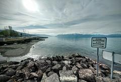 Lake Geneva (simondownunder) Tags: panorama lake alps geneva swiss lausanne
