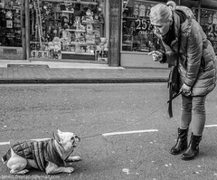"""""""For the last time... MOVE !!"""" (dens_lens) Tags: street england brighton candid"""